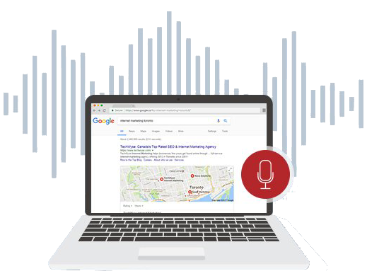Voice Search Google Listings